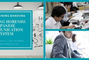 Training Horenso Japanese Communication System