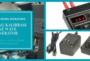 Training Kalibrasi Sine Wave Generator