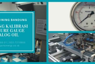Training Kalibrasi Pressure Gauge Analog Oil