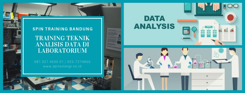Training Teknik Analisis Data di Laboratorium