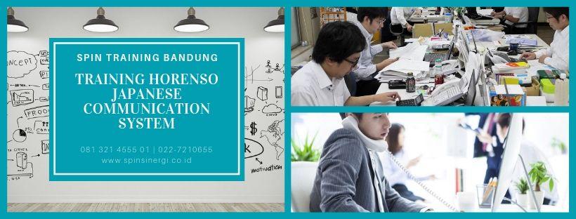 Training Horenso Japanese Communication System
