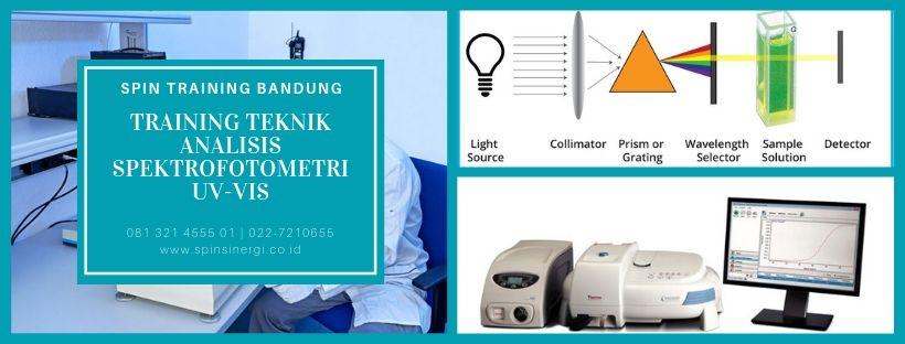 Training Teknik Analisis Spektrofotometri UV-Vis