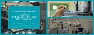 Training Perawatan Kolom HPLC dan GC