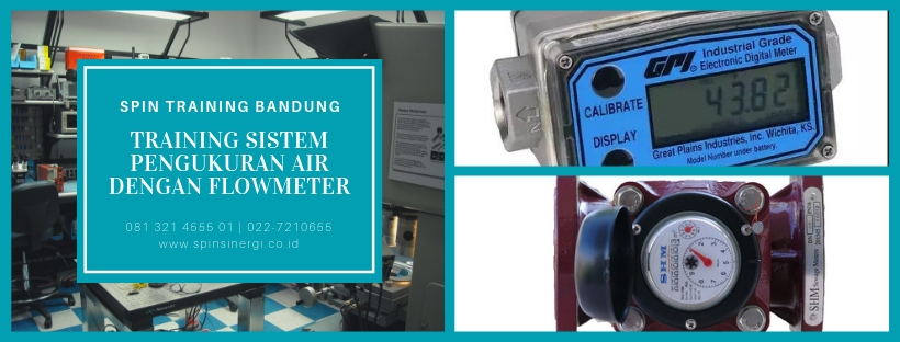 Training Sistem Pengukuran Air dengan Flowmeter