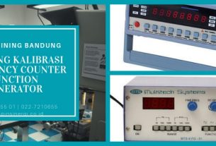 Training Kalibrasi Frequency Counter Function Generator