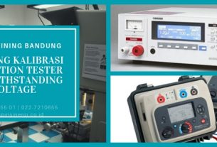 Training Kalibrasi Insulation Tester Withstanding Voltage