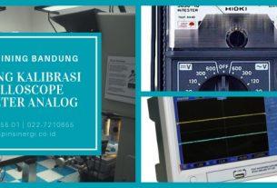 Training Kalibrasi Oscilloscope Avometer Analog