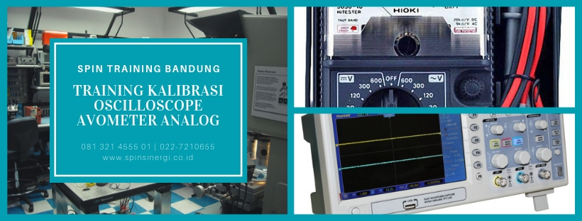 Training Kalibrasi Oscilloscope Avometer Analog