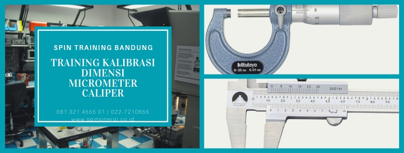 Training Kalibrasi Dimensi Micrometer Caliper