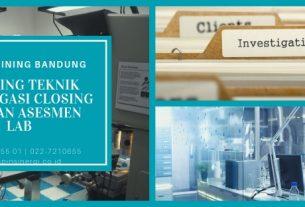 Training Teknik Investigasi Closing Temuan Asesmen Lab