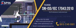 Training Uji Profisiensi lab Implementasi ISO 17043:2010