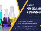 Training Penanganan Bahan Kimia Laboratorium