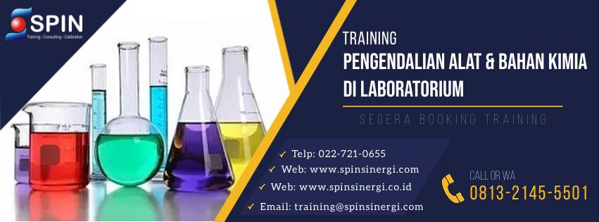 Training Penanganan Bahan Kimia Laboratorium